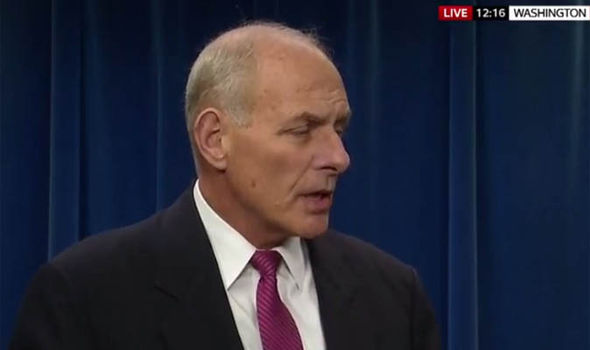 John Kelly at press conference