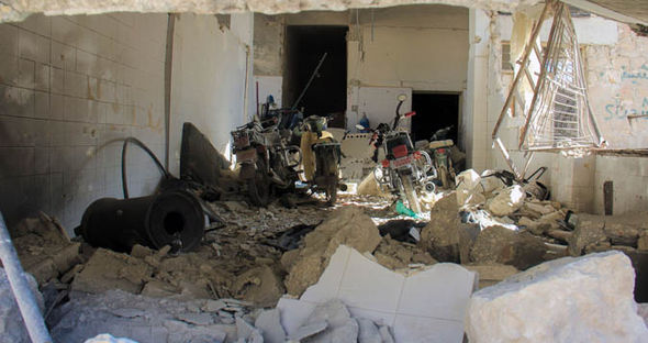 US Syria air strike Donald Trump missile attack EU peace talks Francois Hollande