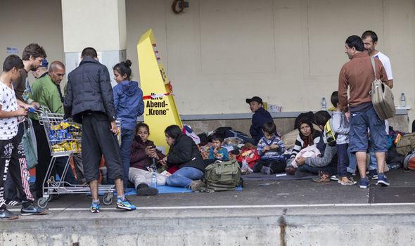 migrants Vienna