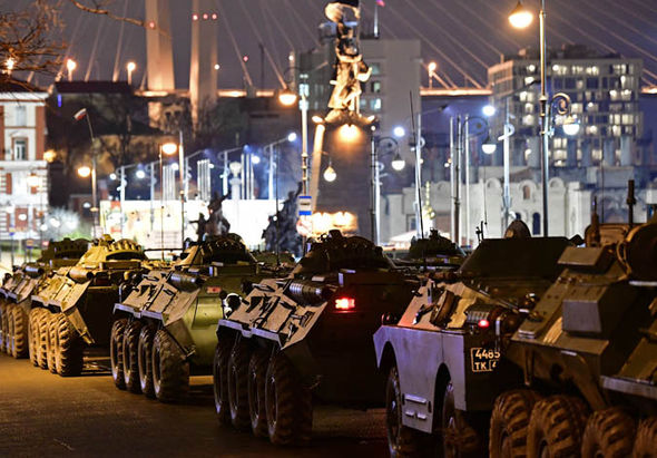 Vladivostok military might