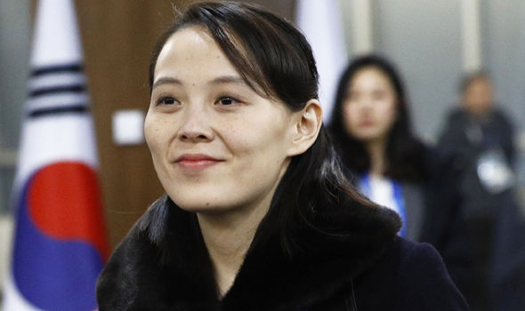 Kim Yo Jong  Winter Olympics 2018: Kim Jong-un's sister body language revealed- 'She is above everyone' | World | News Winter Olympics Winter Olympics 2018 Winter Olympics North Korea Winter Olympics Kim Jong Un Winter Olympics Kim Yo Jong 1231100