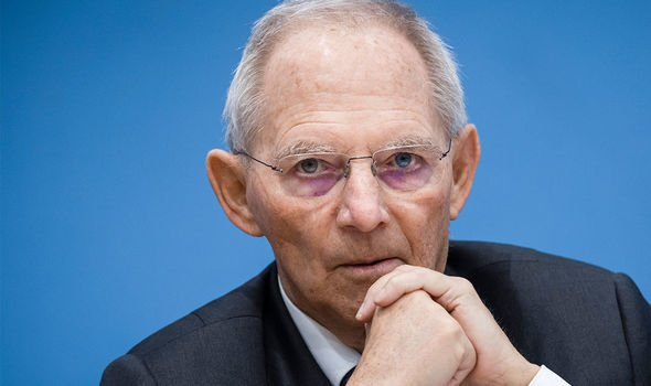 Wolfgang Schäuble: The Bundestag president said any EU army agreements would not yet happen
