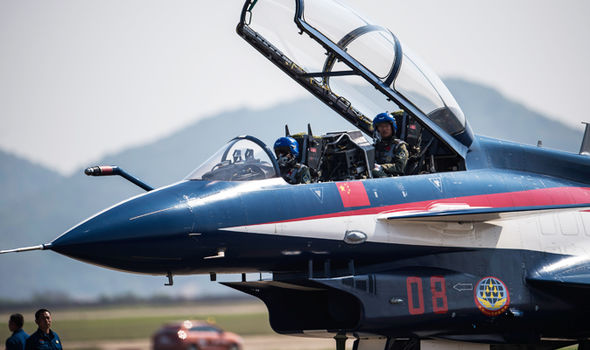 China military fighters