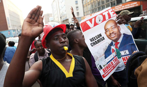 Zimbabwe election results: Nelson Chamisa voter