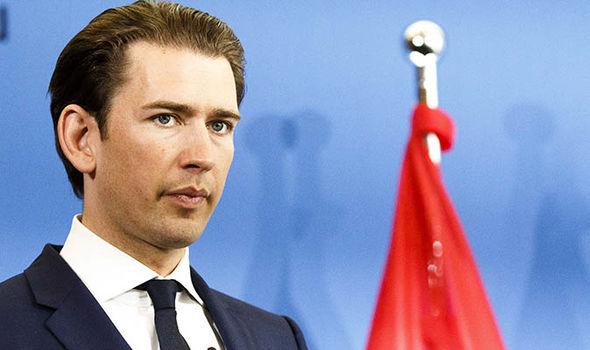 austria sebastian kurz migrant policy horst seehofer angela merkel matteo salvini eu news