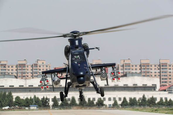Z-19E attack helicopter