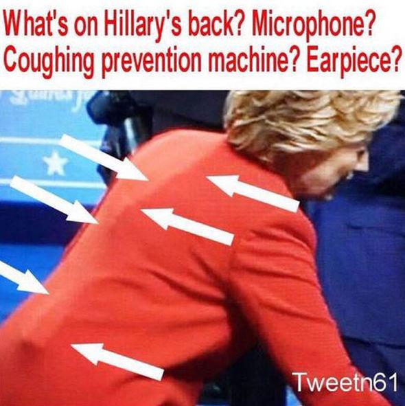 """""""Dispositivo anti-tos 'de Hillary Clinton"""