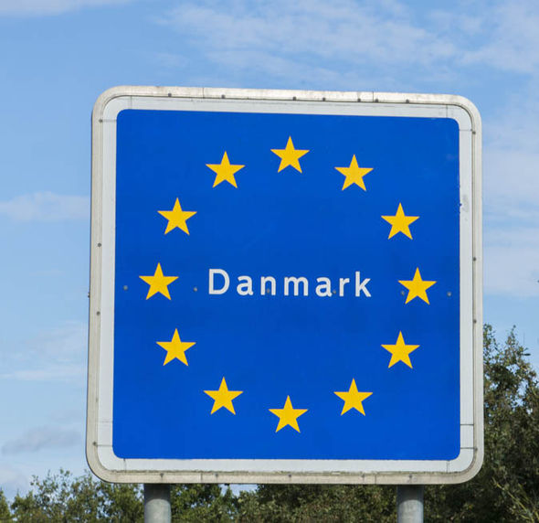 Denmark sign