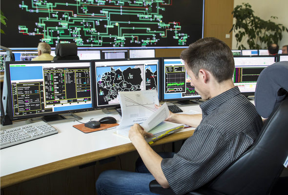 German power grid