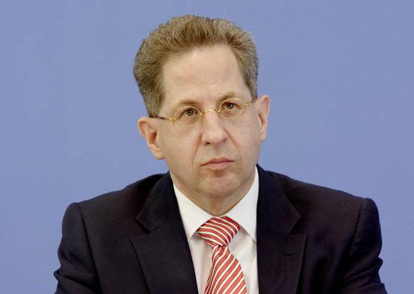 Hans-Georg Maassen in a suit