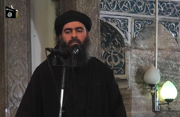 Leader of ISIS Abu Bakr al-Baghdadi