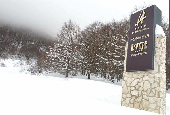 The Abruzzo region has been hit with heavy snowfall in recent days