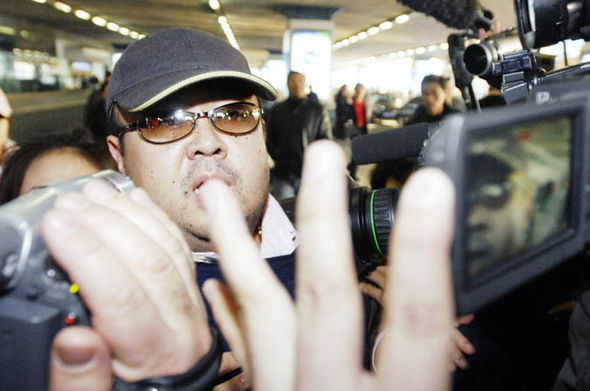 Kim Jong-nam hounded by paparazzi