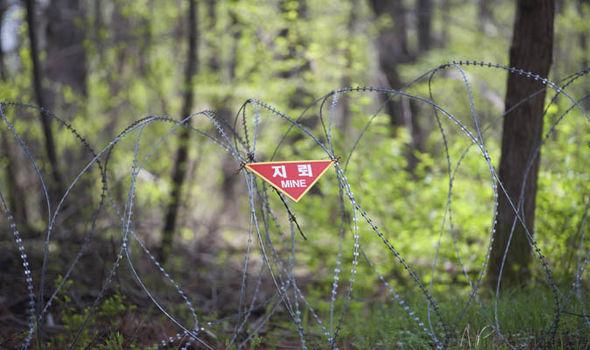 Mines in DMZ