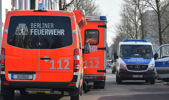 The attacker was later taken to hospital