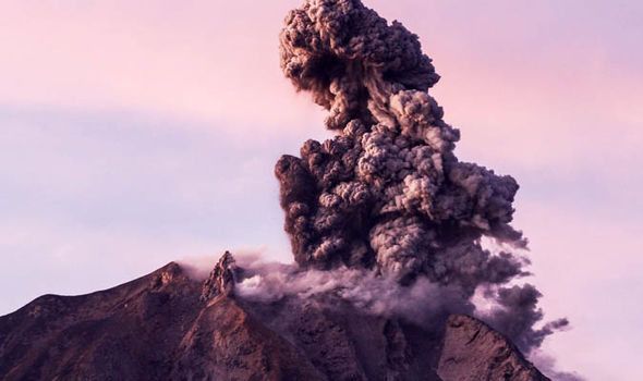 Mount Sinabung  Bali volcano update LIVE: Mount Agung eruption fears escalate – earthquakes strengthen | World | News mount sinabung indonesia volcano 1099104