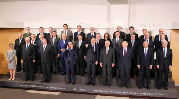 Nato foreign ministers
