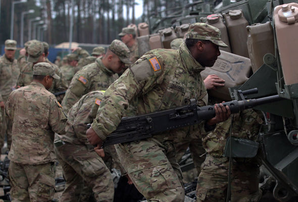 NATO forces have already been deployed in Poland