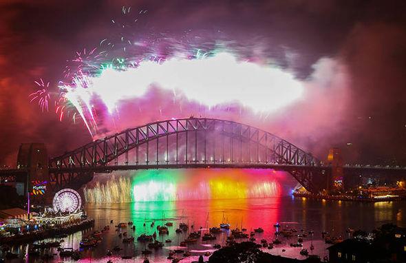 New Year's Eve celebrations in Sydney, Australia