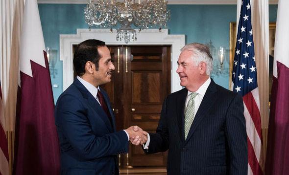 Qatar's Foreign Minster Sheikh Mohammed bin Abdulrahman Al Thani