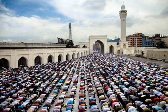 Ramdan prayers