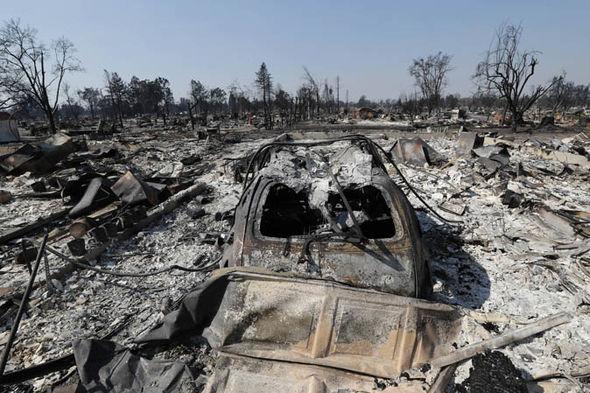 California fires: Santa Rosa