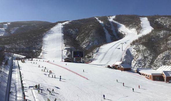 The summit reaches 4,000 feet high