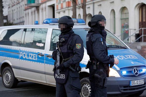 Elite police commandos