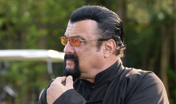Putins Celebrity Ally Steven Seagal Fed Carrots And