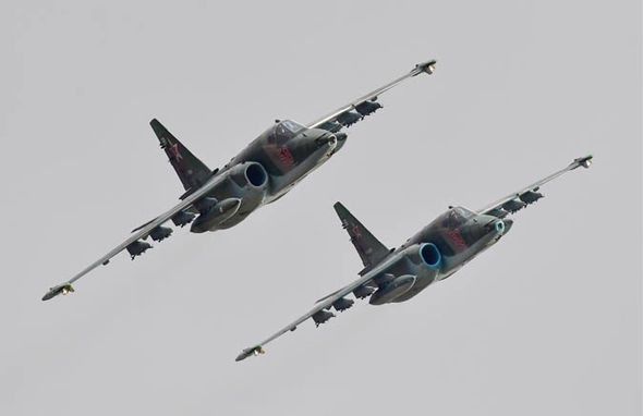 World War 3 news: Russian fighter jets in the sky