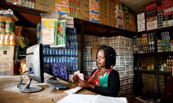 zimbabwe protest emmerson mnangagwa economy fuel shop