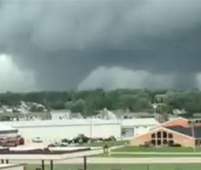 Tornado Marshalltown Iowa Usa Pella Catastrophic Damage
