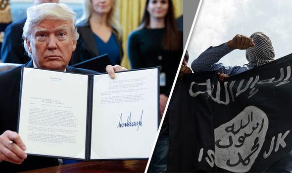 trump isis executive order