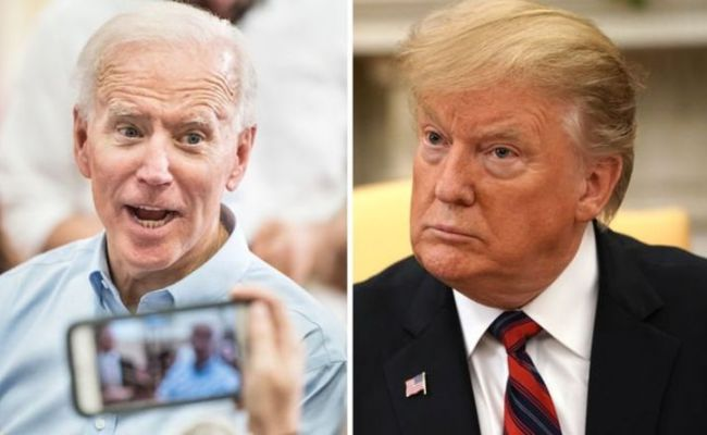 Trump Biden Nickname War Biden Has A Response Nickname