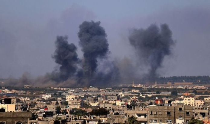Horror as Israeli airstrikes kill 'girl, 2, her pregnant mother and disabled father'