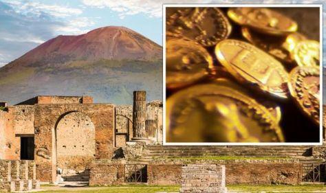 Archaeology breakthrough as 'vast treasure hoard' from Pompeii linked to Roman elite