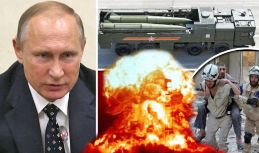 Vladimir Putin issues emergency call to ALL Russians to return home amid WORLD WAR fears