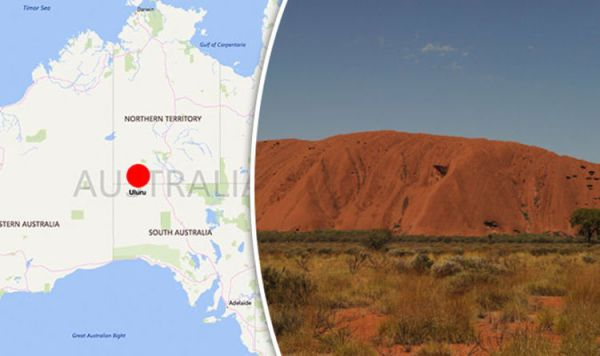 Australia map Where is Uluru Why can39t tourists go up