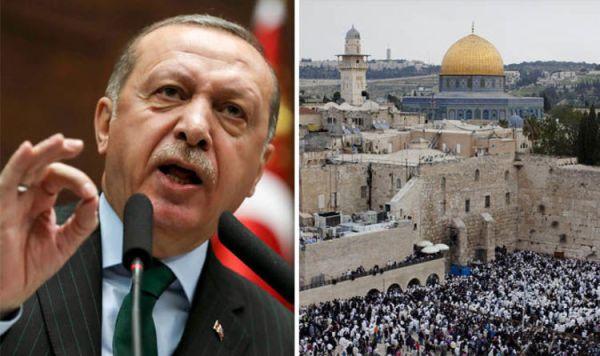 Turkey to recognise Jerusalem as capital of PALESTINE