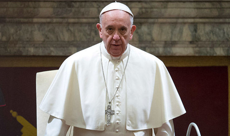Pope Francis hits out at Vatican in scathing Christmas message  World  News  Expresscouk