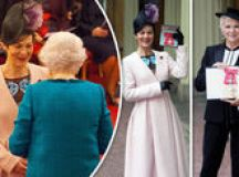 June Whitfield is absolutely delighted to receive a damehood at Buckingham Palace images 2