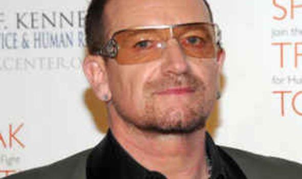 Image result for Bono Nobel Peace Prize