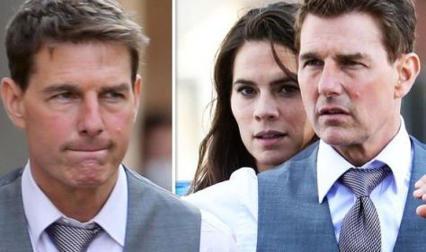 Tom Cruise 'splits' from girlfriend Hayley Atwell amid filming Mission Impossible together