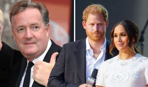 'Made me puke' Meghan and Prince Harry slammed by Piers for creating 'rival Royal Family'