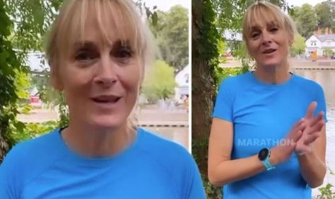 Louise Minchin says injury is taking 'longer than hoped' to heal in 'difficult' update