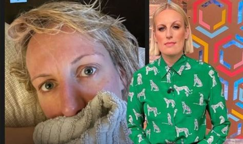 Steph McGovern responds after sparking concern over health with photo: 'Doing my head in!'