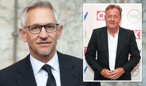 'He's not a real man!' Gary Lineker mocks Piers Morgan's furious female James Bond rant