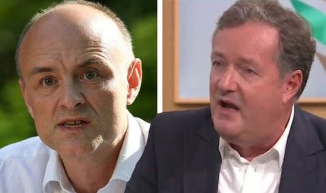 Piers Morgan branded a 'vain tool' by Dominic Cummings amid bitter clash over GMB boycott