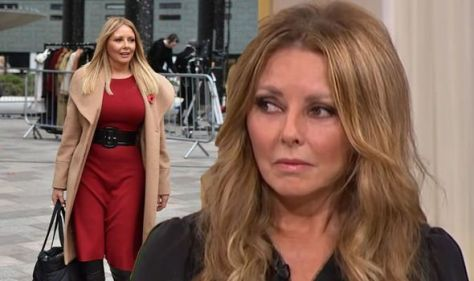 'Loss never leaves' Carol Vorderman shares mother's grief over heartbreaking miscarriage