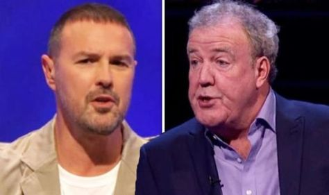 'Terrible headache' Jeremy Clarkson forced to switch off Question of Sport as Paddy reacts